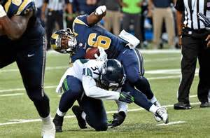 rams highlights seattle seahawks vs st louis rams highlights