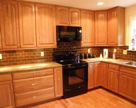 honey oak cabinets ideas pictures remodel  decor
