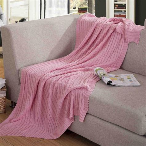 throw blanket on sofa new knit throw blanket for summer autumn throw blanket on