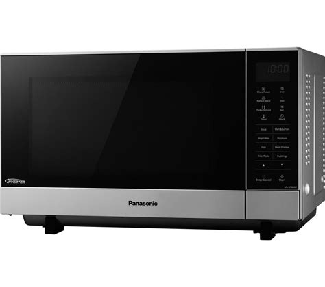 Microwave Panasonic Nn Sm209w buy panasonic nn sf464mbpq microwave silver free delivery currys