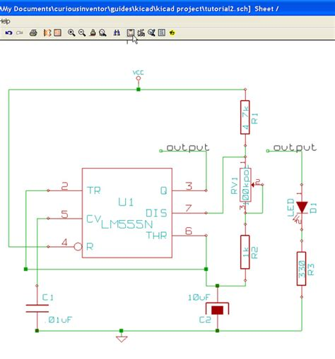 kicad schematic to layout tutorial curiousinventor guides