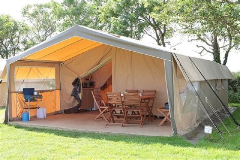 outdoor tourist canvas safari tent xm glampling tent