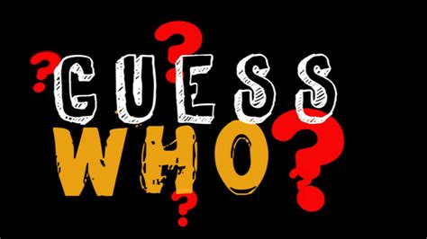 Guess Who by Guess Who Images Www Imgkid The Image Kid Has It
