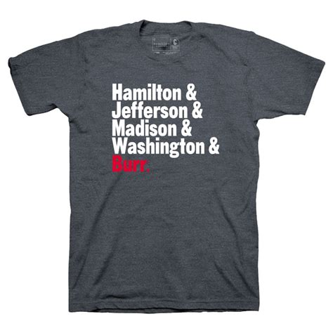 T Shirt S A S Name hamilton names t shirt apparel broadwaymerchandiseshop