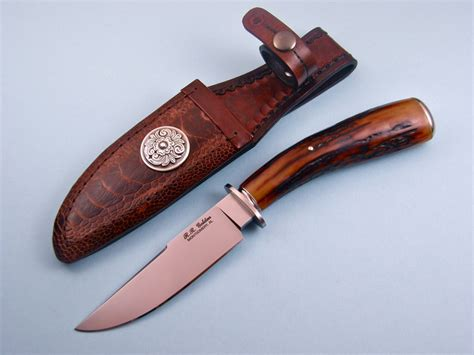 cpm 154cm steel custom knives made by randy golden for sale by knife