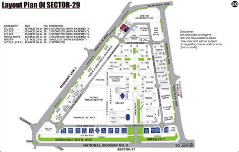 layout plan sector 52 gurgaon sector 29 gurgaon plots