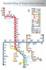 Taipei Metro Map by 4 Days In Taiwan Taipei Luvniku