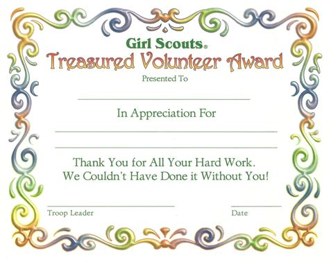 1000 images about girl scout certificates on pinterest