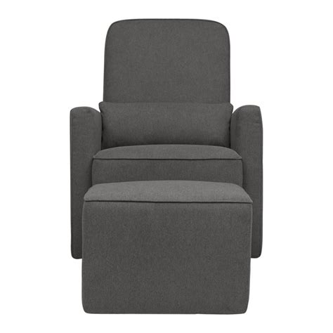 gray glider and ottoman davinci olive glider and ottoman in dark gray m11687gy