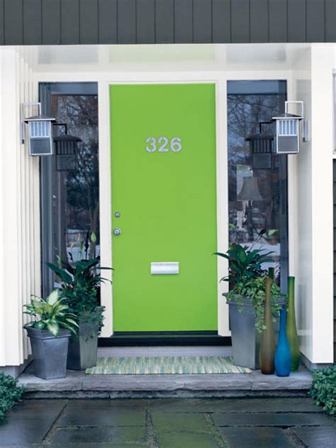 lime green door popular colors to paint an entry door installing