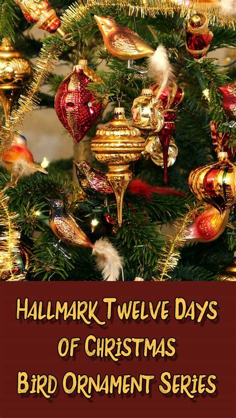 twelve days of christmas ball ornament hallmark twelve days of bird series