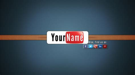 geometric lines youtube channel art banner template photoshop