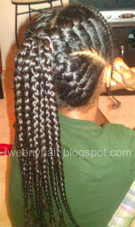 goddess braid in a ponytail goddess braids up into a ponytail