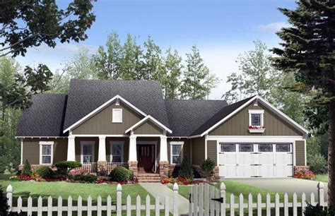 Craftsman Country House Plans Cottage Country Craftsman House Plan 59170