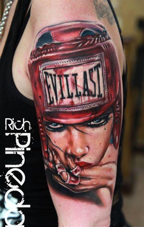 jenna jameson tattoo evillast on by rich pineda