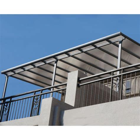 aluminium terrasse toit de terrasse 3x4 2m aluminium anthracite et