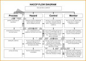 Haccp Template by Haccp Flow Chart Template Flowchart Summary Of The Food