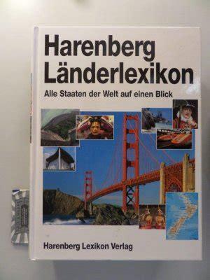 Harenberg L 228 Nderlexikon Alle Staaten Der Welt Auf Einen