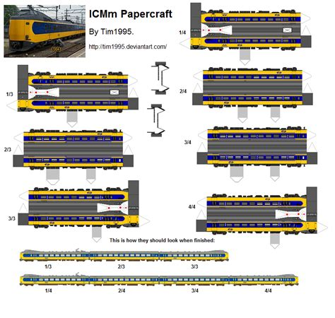 Railroad Point Right Paper Craft icmm papercraft by tim1995 on deviantart