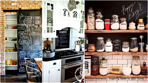 Contemporary Kitchen Decorating Ideas by 21 Simply Beautiful Ways To Use Chalkboard Paint On A