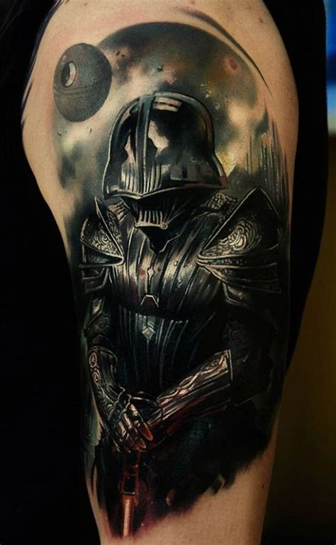 lord vader star wars tattoo
