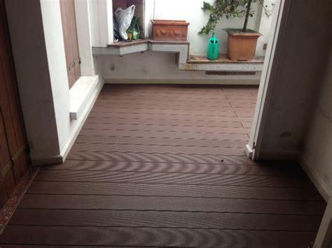 pavimenti mantova pavimentazione novowood wpc su terrazzo privato mantova