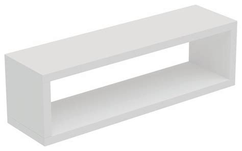 rectangle wall shelf tichla rectangle floating shelf 2 0 scandinavian