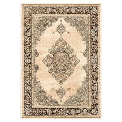 Area Rugs At Lowes Ecarpet Gallery Shahrzad Kerman Beige Area Rug Lowe S Canada