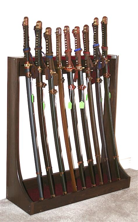 sword display stand knives swords