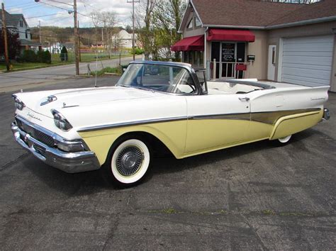 1958 ford skyliner 1958 ford skyliner retractable hardtop airplanes and