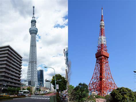 東京タワーv s 東京スカイツリー 新旧タワーを徹底比較 真の日本のシンボルとなるのはどっちだ