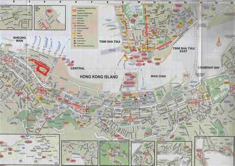 printable street map of hong kong maps update 13221221 hong kong tourist map hong kong