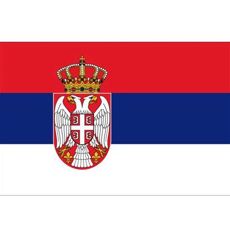 serbia vector flag at vectorportal
