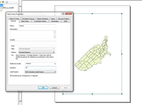 Rotate Layout View Arcgis | arcgis 9 3 rotate while in layout view geographic