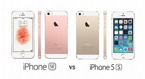 Image result for iPhone 5S vs SE 2016. Size: 292 x 160. Source: phoneradar.com