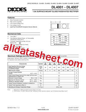datasheet of diode 4007 datasheet of diode 4007 28 images cd4007 datasheet pdf intersil corporation 1n4007