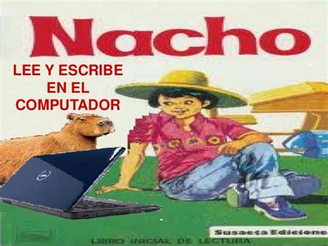 libro nacho en casa de nacho lee