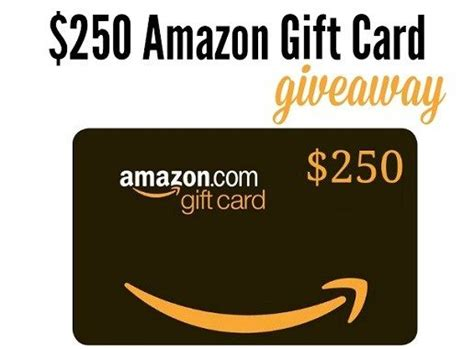 How To Win Giveaways On Amazon - win a 250 amazon gift card us only giveaway best free