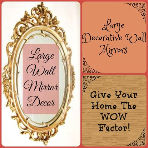 wow factor wall mirrors cosy home blog large decorative wall mirrors give your room the wow factor
