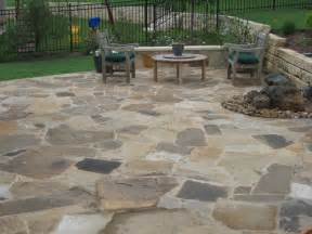 Flagstone Patio Design by Custom Flagstone Patios Austin Texas Design And Build