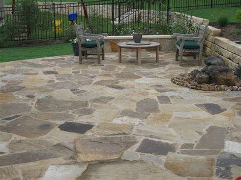 flagstone patio houses flooring picture ideas blogule