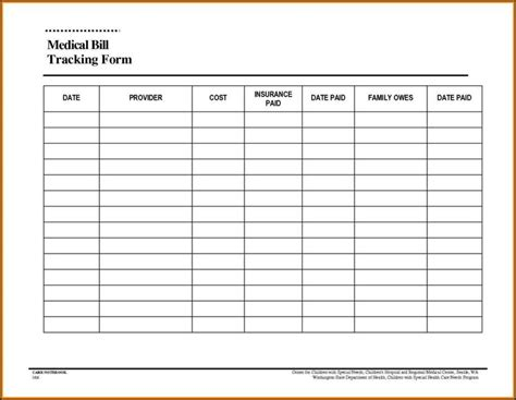 excel template for bills monthly bill budget template