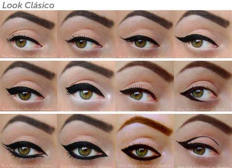Eyeliner Me como usar eyeliner tipos consejos y fotos