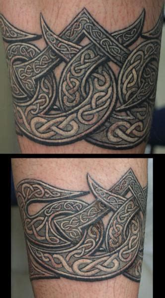 arm tribal celtic tattoo by anil gupta