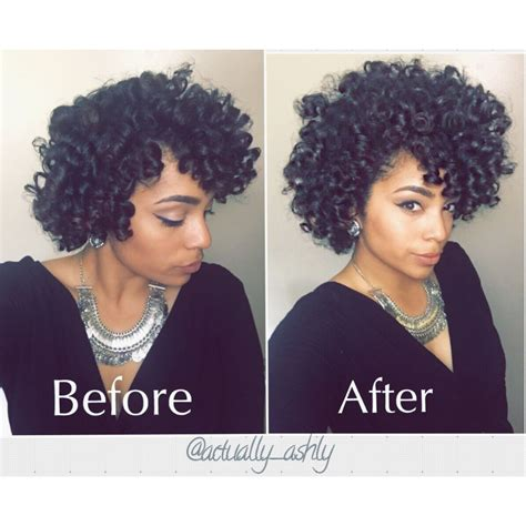show me pictures of a perm with big rollers perm rod set on natural hair this is to show you before