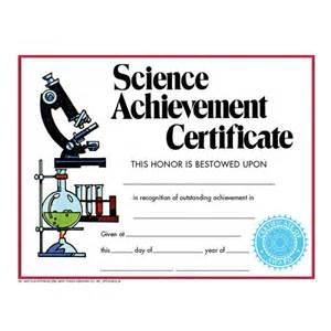 science award certificate template science achievement certificate va271cl school