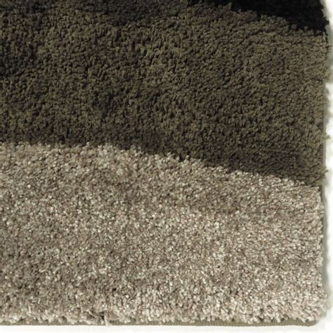 Black Plush Area Rug by Orian Rugs Plush Waves Flume Black Area Small Rug 3623