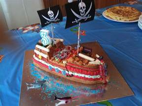 Easy Party Cocktail Recipes - pirate cake