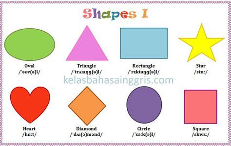 Al Segi 4 I berbagai macam shape bentuk dalam bahasa inggris kelasbahasainggris