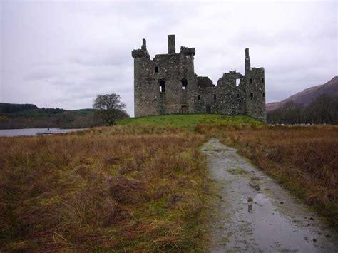 kilchurn castle scotland loch awe   architect